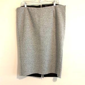 Torrid Gray Pencil Skirt
